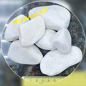 Мрамор галтованный фракция 40-70 мм
