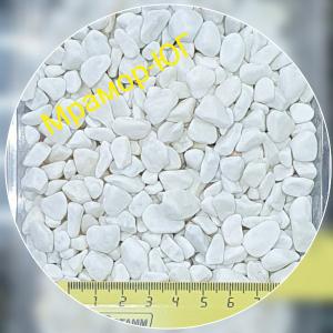 Мрамор галтованный фракция 7-12 мм