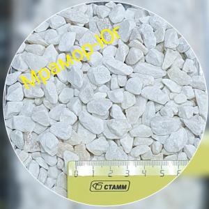 Мраморный щебень фракция 7-12 мм
