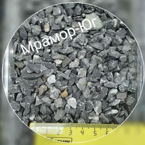 Чёрный мрамор  фракция 3-5 мм