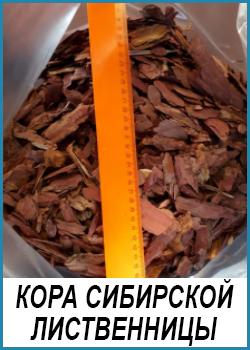 Кора Сибирской лиственницы