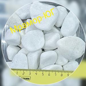 Мрамор галтованный фракция 20-40 мм