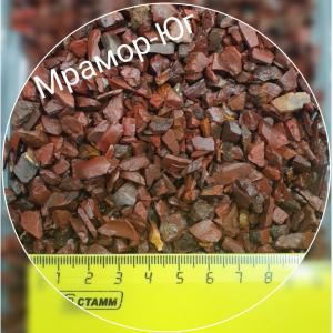 Яшма фракция 3-5 мм