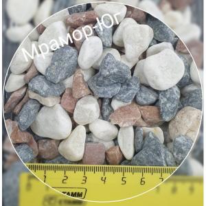 Микс галтованный фракция 10-20 мм