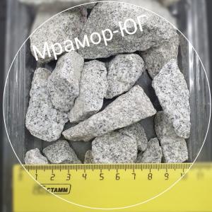 Гранит серый  фракция 20-40 мм