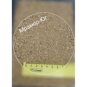 Яшма пейзажная фракция 0-2 мм