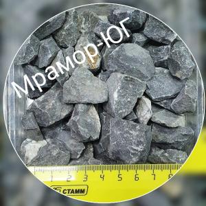 Чёрный мрамор фракция 10-20 мм