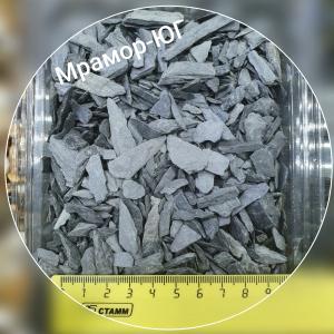 Чёрный сланец фракция 5-10 мм