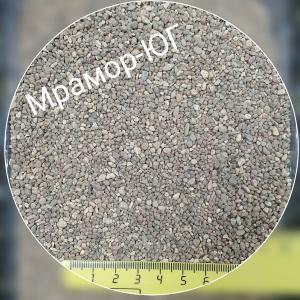 Галька  фракция 1-2 мм